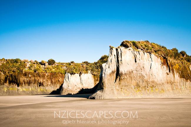 Carters Beach in Westport - Buller Region, Central West Coast, New Zealand