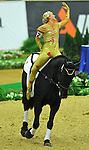 7 October 2010: Joanne Eccles (GBR) competes during Vaulting in the World Equestrian Games in Lexington, Kentucky