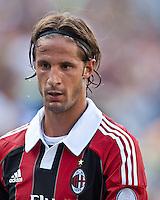 AC Milan defender Luca Antonini (77).  AC Milan defeated Olimpia 3-1 at Gillette Stadium on August 4, 2012