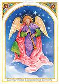 Interlitho-Emilia, HOLY FAMILIES, HEILIGE FAMILIE, SAGRADA FAMÍLIA, paintings+++++,1 angel,KL5468,#xr#