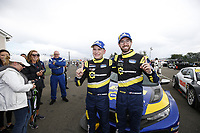 #84: Atlanta Speedwerks Honda Civic FK7 TCR, TCR: Brian Henderson, Robert Noaker, winner, victory lane