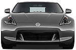 Straight front view of a 2009 Nissan 370 Z Touring Coupe