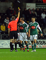 ATTENTION SPORTS PICTURE DESK<br /> Pictured:<br /> Re: Coca Cola Championship, Swansea City Football Club v Plymouth Argyle at the Liberty Stadium, Swansea, south Wales. Tuesday 08 December 2009