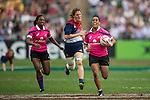 Women's Sevens Cup Final during the HSBC Hong Kong Rugby Sevens 2016 on 08 April 2016 at Hong Kong Stadium in Hong Kong, China. Photo by Li Man Yuen / Power Sport Images