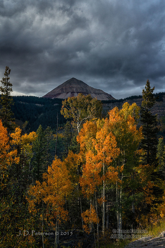 Storm Clouds over Engineer Mountain, Colorado