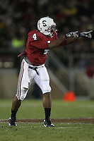 1 December 2007: Mark Bradford during Stanford's 20-13 win over California in the 110th Big Game at Stanford Stadium in Stanford, CA. Stanford leads the rivalry series over California, 55-44-11.