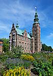 Denmark, Zealand, Copenhagen: Rosenborg Slot (castle) built as Summer House in 1606-1634 for Christian 4th | Daenemark, Insel Seeland, Kopenhagen: Schloss Rosenborg erbaut 1606-1634 von Christian IV.