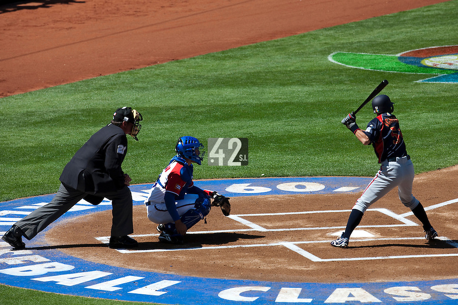 15 March 2009: #51 Ichiro Suzuki of Japan is seen at bat during the 2009 World Baseball Classic Pool 1 game 1 at Petco Park in San Diego, California, USA. Japan wins 6-0 over Cuba.