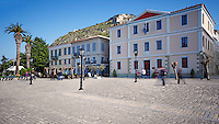 The square of Nafplio, Greece