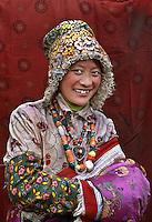 Tibetan woman, Kham, Tibet 2005