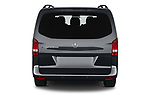 Straight rear view of 2021 Mercedes Benz Vito-Tourer - 5 Door Passenger Van Rear View  stock images