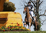 April 26, 2014: RF Demeter and Marilyn Little compete in Cross Country at the Rolex Three Day Event in Lexington, KY at the Kentucky Horse Park.  Candice Chavez/ESW/CSM