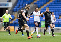 Bolton Wanderers' Nathan Delfouneso breaks<br /> <br /> Photographer Andrew Kearns/CameraSport<br /> <br /> The EFL Sky Bet League Two - Bolton Wanderers v Oldham Athletic - Saturday 17th October 2020 - University of Bolton Stadium - Bolton<br /> <br /> World Copyright © 2020 CameraSport. All rights reserved. 43 Linden Ave. Countesthorpe. Leicester. England. LE8 5PG - Tel: +44 (0) 116 277 4147 - admin@camerasport.com - www.camerasport.com