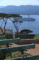 Europe/France/Provence-Alpes-Côte d'Azur/83/Var/Saint-Tropez: Le golfe vu depuis la citadelle