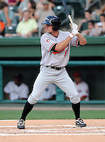 Outfielder Brian Conley (9) of the Delmarva Shorebirds at the 2010 South Atlantic League All-Star Game on Tuesday, June 22, 2010, at Fluor Field at the West End in Greenville, S.C. Photo by: Tom Priddy/Four Seam Images