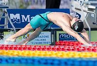 50m Backstroke Men<br /> Semi-Final<br /> TKACHEV Aleksei A. RUS Russia<br /> LEN European Junior Swimming Championships 2021<br /> Rome 2178<br /> Stadio Del Nuoto Foro Italico <br /> Photo Andrea Masini / Deepbluemedia / Insidefoto