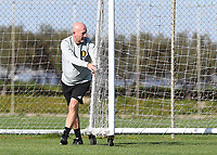20190228 - LARNACA , CYPRUS : Belgian team manager Rudy Vanderelst pictured during a Matchday -1 training from The Belgian Red Flames prior to their game against the women team of Austria , on Thursday 28 February 2019 at the Alpha Sports Grounds in Larnaca , Cyprus . This will be the second game in group C for Belgium during the Cyprus Womens Cup 2019 , a prestigious women soccer tournament as a preparation on the European Championship 2021 qualification duels. PHOTO SPORTPIX.BE | DAVID CATRY