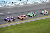 2017 NASCAR Cup - Clash at Daytona<br /> Daytona International Speedway, Daytona Beach, FL USA<br /> Sunday 19 February 2017<br /> Denny Hamlin, FedEx Express Toyota Camry, Daniel Suarez, ARRIS Toyota Camry, Matt Kenseth, Interstate Batteries Toyota Camry, Kyle Busch, M&M's Toyota Camry.<br /> World Copyright: John K Harrelson/LAT Images<br /> <br /> <br /> ref: Digital Image 17DAY1jh_01738