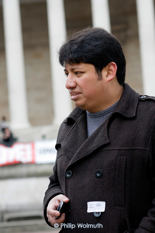 Juan Carlos Piedra Benitez was sacked from his job at University College London by  cleaning contractor Office & General following his involvement in a trade union campaign for improved pay anmd conditions.