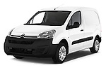 2016 Citroen Berlingo-Furgon Club-M 4 Door Car Van Angular Front stock photos of front three quarter view