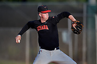 Will Koger (9) during the WWBA World Championship at Terry Park on October 11, 2020 in Fort Myers, Florida.  Will Koger, a resident of Bardstown, Kentucky who attends Bardstown High School, is committed to Louisville.  (Mike Janes/Four Seam Images)