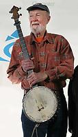 Pete Seeger, 05-3-09, Photo By John Barrett/PHOTOlink