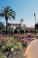 Mission San Juan Capistrano, San Juan Capistrano, California, USA - Historic Landmark founded 1776