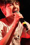 "Teen pop star Greyson Chance performs on his co-headlining ""Waiting4U tour"" with Australian pop star Cody Simpson at the Chameleon in Lancaster, Pennsylvania USA April 20, 2011. .Copyright EML/Rockinexposures.com."
