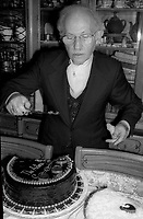 Lee Strasberg 1977<br /> Photo By Adam Scull/PHOTOlink.net
