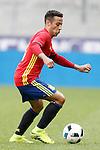 Spain's Thiago Alcantara during friendly match. June 1,2016.(ALTERPHOTOS/Acero)