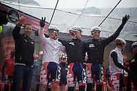 2013 Giro d'Italia.stage 12.Longarone - Treviso: 134km..Team Lotto-Belisol always in happy spirits