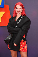"LONDON, UK. June 16, 2019: Jess Woodley arriving for the ""Toy Story 4"" premiere at the Odeon Luxe, Leicester Square, London.<br /> Picture: Steve Vas/Featureflash"