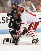 Ryan Tait (PC - 8), Patrick Curry (BU - 11) - The Boston University Terriers tied the visiting Providence College Friars 2-2 on Saturday, December 3, 2016, at Agganis Arena in Boston, Massachusetts.