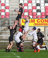 Tuesday 6th March 2019 | Ulster Schools Cup - Semi Final 1<br /> <br /> Jack Stinson during the Ulster Schools cup semi-final between Campbell College Belfast and the Royal School Armagh at Kingspan Stadium, Ravenhill Park, Belfast, Northern Ireland. Photo by John Dickson / DICKSONDIGITAL