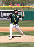 Sean Manaea - Oakland Athletics 2020 spring training (Bill Mitchell)