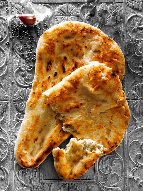 Garlic & Coriander naan bread