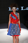 Model walks runway in an outfit from the De Lauraine Designs Spring Summer 2020 runway show for The Society Fashion Week Spring Summer 2020 during New York Fashion Week, on September 7, 2019.