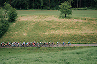 compact peloton with 5km to go approaching the last climb of teh day<br /> <br /> Stage 3: Oberstammheim > Gansingen (182km)<br /> 82nd Tour de Suisse 2018 (2.UWT)
