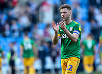 Preston North End's Paul Gallagher applauds his side's travelling supporters at the end of the match <br /> <br /> Photographer Andrew Kearns/CameraSport<br /> <br /> The EFL Sky Bet Championship - Reading v Preston North End - Saturday 30th March 2019 - Madejski Stadium - Reading<br /> <br /> World Copyright © 2019 CameraSport. All rights reserved. 43 Linden Ave. Countesthorpe. Leicester. England. LE8 5PG - Tel: +44 (0) 116 277 4147 - admin@camerasport.com - www.camerasport.com