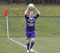 RSC Anderlecht Dames : Taika De Koker.foto DAVID CATRY / Vrouwenteam.be