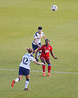 Danielle Carter of Reading attempts to control the ball during Tottenham Hotspur Women vs Reading FC Women, Barclays FA Women's Super League Football at the Hive Stadium on 7th November 2020