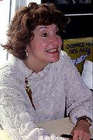 Louise Deschatelets<br /> entre 1991 et 1995 <br /> (date exacte inconnue)<br /> <br /> <br /> <br /> PHOTO D'ARCHIVE : Agence Quebec Presse