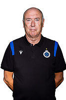 20th August 2020, Brugge, Belgium;  Erwin Beyen pictured during the team photo shoot of Club Brugge NXT prior the Proximus league football season 2020 - 2021 at the Belfius Base camp