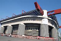 - stadio di calcio di S.Siro....- soccer stadium of S.Siro
