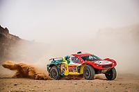 7th January 2021; Riyadh to Buraydah, Saudi Arabia; Dakar Rally, stage 5;  358 Gastaldi Marcelo Tiglia (bra), Roldan Lourival (bra), Century, Century Racing, Auto, action during the 5th stage of the Dakar 2021 between Riyadh and Buraydah, in Saudi Arabia on January 7, 2021