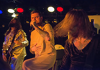 Frontman Connor Garritty is a very angry Cowardly Lion as All Hail the Yeti -- dressed as characters from the Wizard of Oz -- perform during a pre-halloween show at Chilkoot Charlie's.