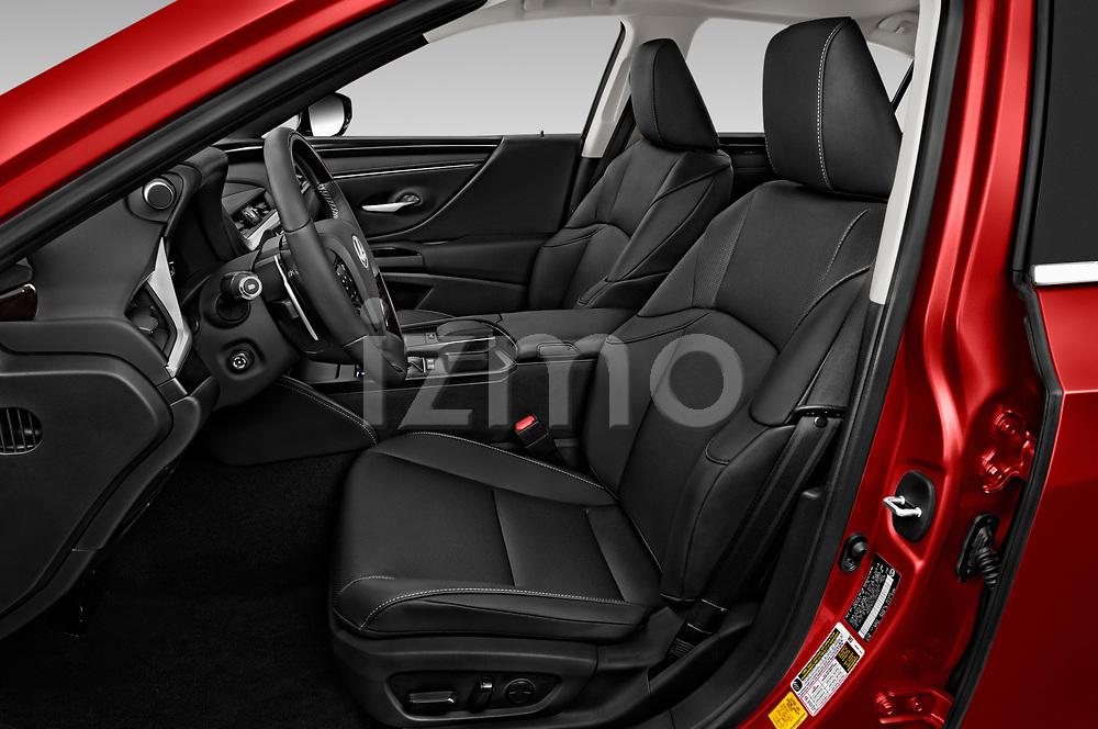 Front seat view of a 2020 Lexus ES 300h 4 Door Sedan front seat car photos