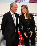 Princess Letizia of Spain attends the 'El Barco de Vapor' literature awards in the presence of the Chairman of the Editorial SM Javier Cortes.April 9, 2013.(ALTERPHOTOS/Acero)
