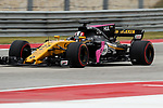 Force India driver Nico Hulkenberg (27) of Germany in action before the Formula 1 United States Grand Prix race at the Circuit of the Americas race track in Austin,Texas.