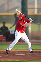 AZL Reds Caleb Van Blake (39) at bat during an Arizona League game against the AZL Athletics Green on July 21, 2019 at the Cincinnati Reds Spring Training Complex in Goodyear, Arizona. The AZL Reds defeated the AZL Athletics Green 8-6. (Zachary Lucy/Four Seam Images)